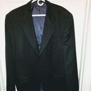 Jones New York Men's Suit Coat Sz 44L 100% wool
